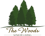The Woods Riverside logo.
